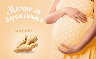 Можно ли беременным имбирь на ранних и поздних сроках беременности?