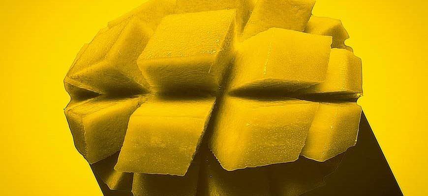манго в разрезе