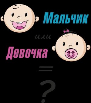 картинка мальчик или девочка