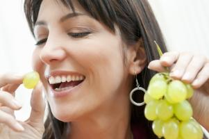 женщина есть виноград