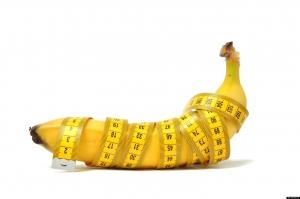 банан обернутый сантиметром