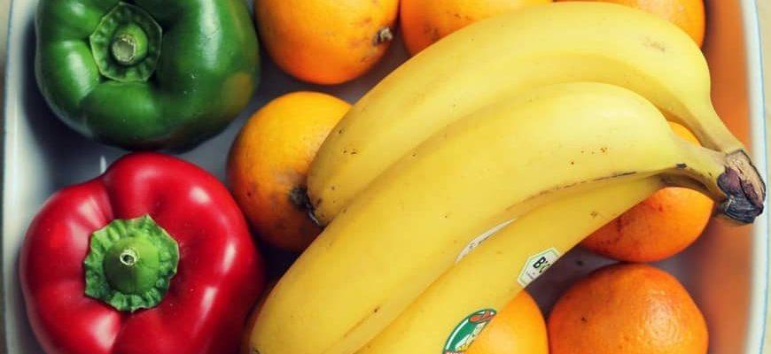 бананы в контейнере