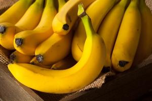 спелые желтые бананы