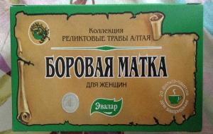 коробка боровой матки