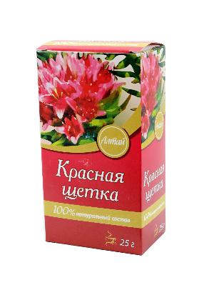 упаковка травы красная щетка