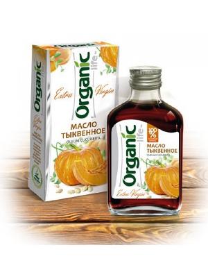бутылочка и упаковка тыквенного масла