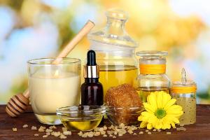 масла, цветы, мед и специи