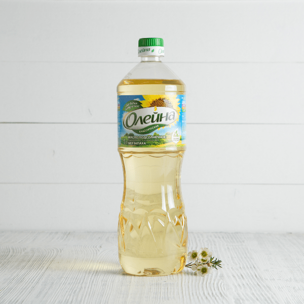 бутылка масла олейна