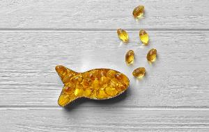 рыбка из капсул рыбьего жира