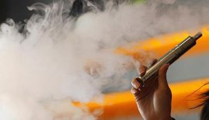 дым от электронной сигареты