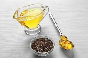 льняное масло, капсулы и семена