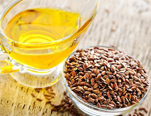 льяное масло и семена льна