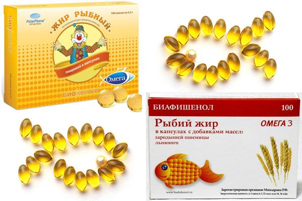 рыбий и рыбный жир