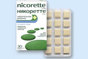 жевательная резинка Никоретте