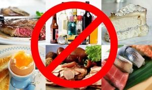 запрещенная еда при холестерине