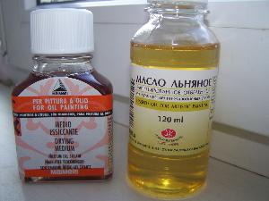баночки льняного масла