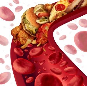 кровь, вредная еда