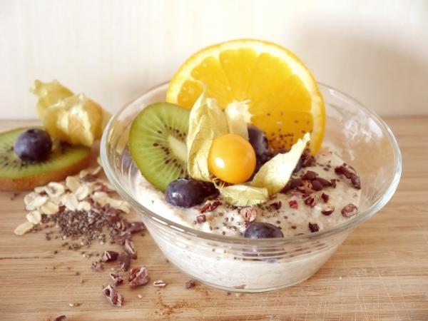гранола с фруктами