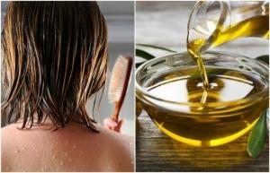 масло, нанесение на волосы