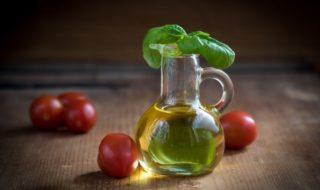 масло, черри и базилик