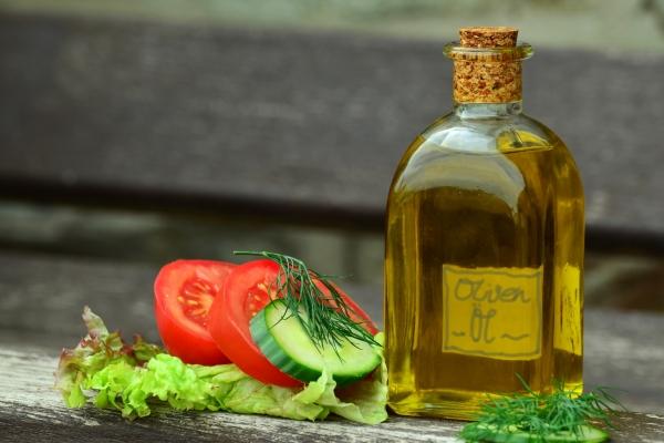 овощи, салат, масло