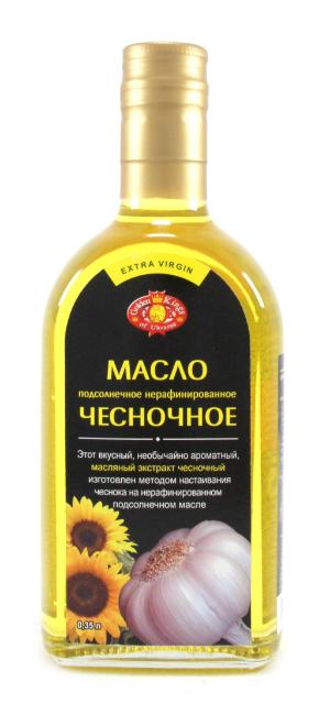 готовое чесночное масло