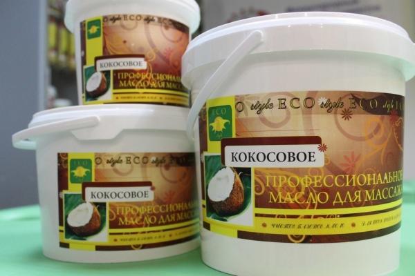 массажное масло кокоса