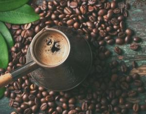 кофе в турке, зерна кофе