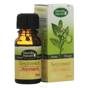 бутылочка масла бергамота