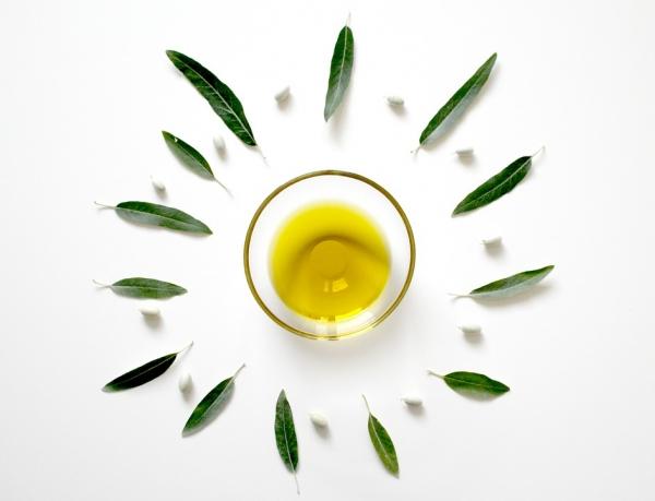 масло оливы, листики