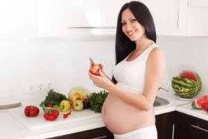 беременная и полезные продукты