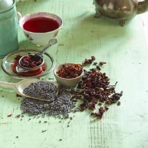 сушеный шиповник, чай