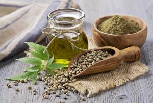 конопля, листья, семена, масло