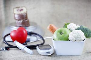 продукты, глюкометр