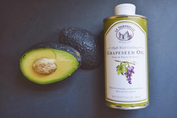 авокадо и масло виноградной косточки
