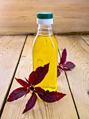 бутылочка масла амаранта