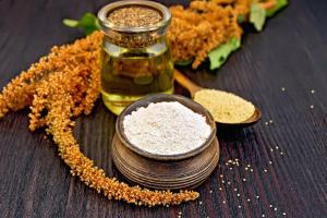 семана, масло и цветок амаранта