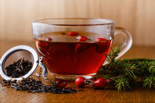 чай из шиповинка