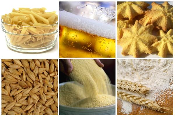продукты с глютеном