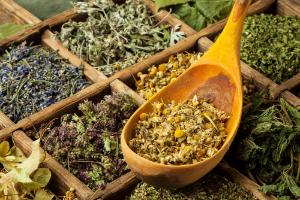 сушеные лечебные травы