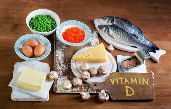 витамин Д, продукты