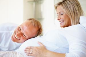 поздняя беременность, женщина и мужчина