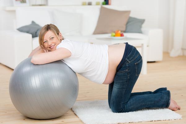 упражнение, беременная