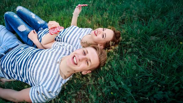 парень и девушка, фото сессия