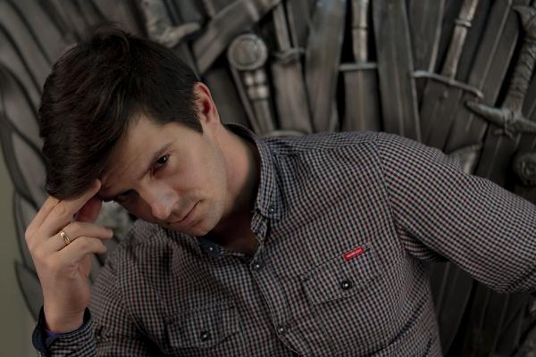 красивый мужчина модель