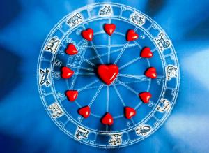 знаки зодиака, сердечки