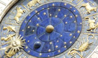фрагмент часов в венеции