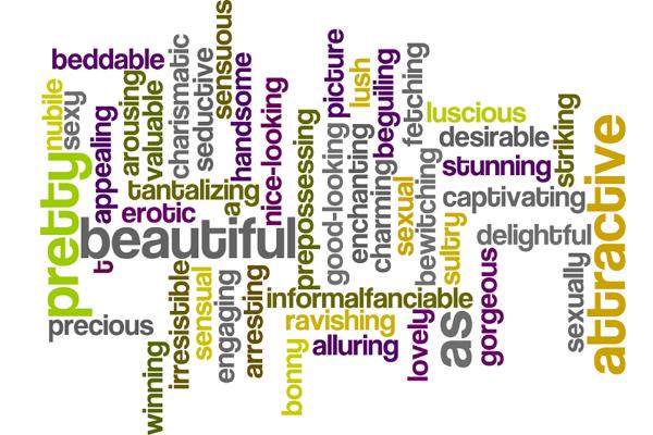 набор разных слов на английском
