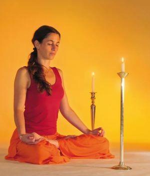 медитация на свече