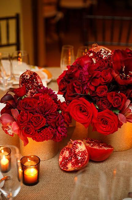 букеты красных роз